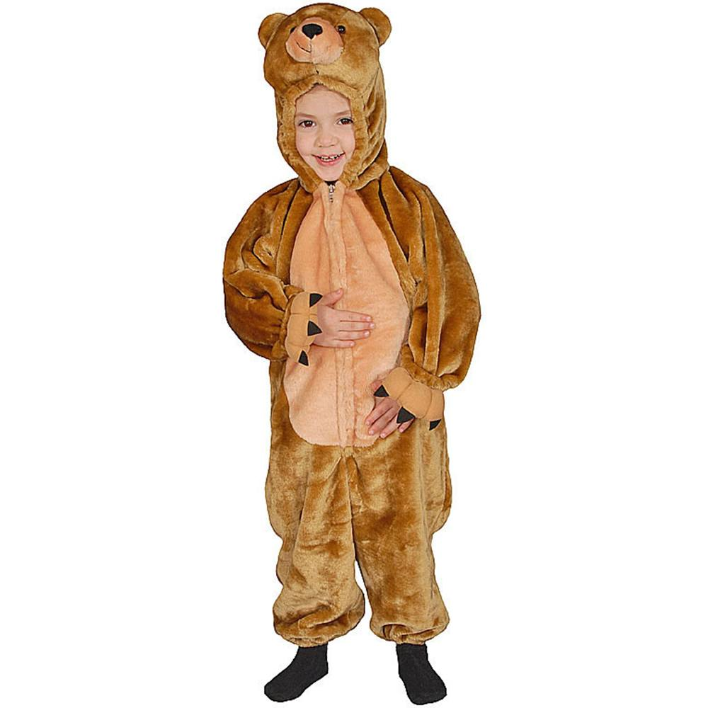 Cuddly Little Brown Bear Toddler Costume