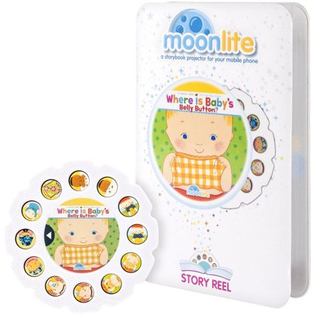 Spin Master Moonlite Story Reel Where Is Baby Belly - 1