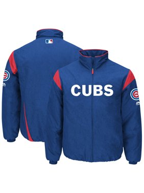 4899a2c04 Product Image Chicago Cubs Majestic On-Field Therma Base Thermal Full-Zip  Jacket - Royal