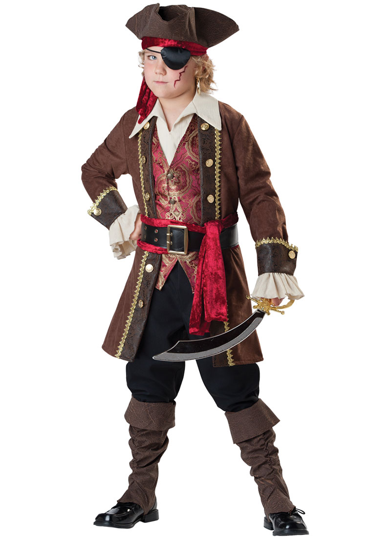 Child Captain Skullduggery Pirate Costume by Incharacter Costumes LLC� 7043 by Incharacter Costumes LLC