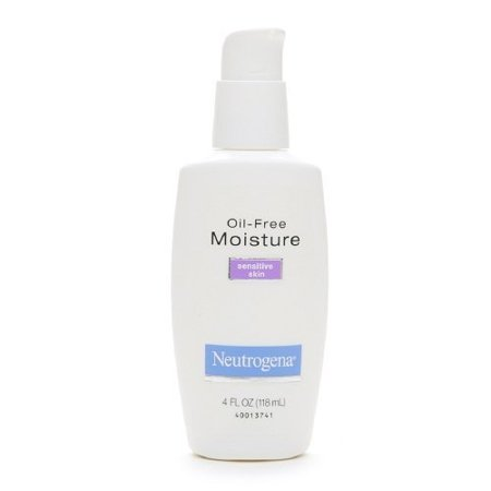 Neutrogena Oil-Free Moisture, Sensitive Skin, 4 (Best Type Of Razor For Sensitive Skin)