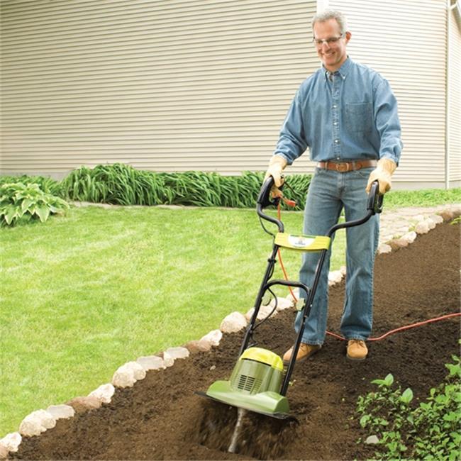 Tiller Joe 6.5 AMP Electric Garden Tiller, Cultivator