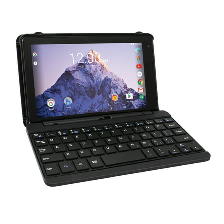 Rca Voyager 7  16Gb Tablet With Keyboard Case Android 6 0  Black