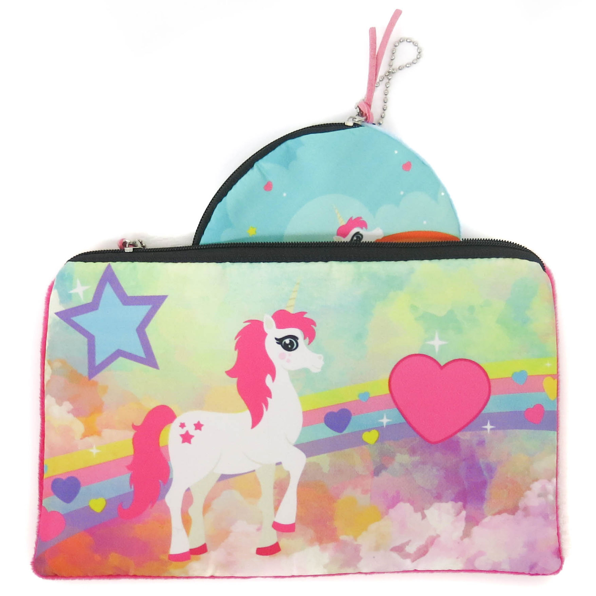 Rainbow Happy Days Pony Horse Kids Childrens Teen Art Canvas Print A3