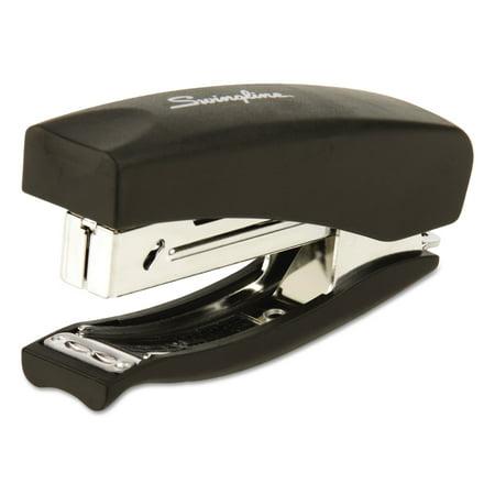 Swingline Soft Grip Half Strip Hand Stapler  20 Sheet Capacity  Black