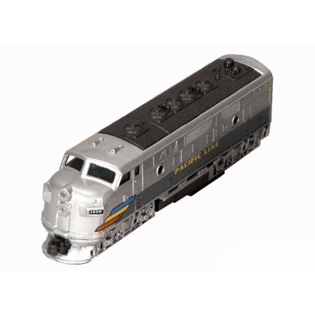 Classic Locomotive, Silver - Showcasts 9933D - 7.5 Inch Scale Diecast Model Replica (Brand New, but NOT IN BOX)