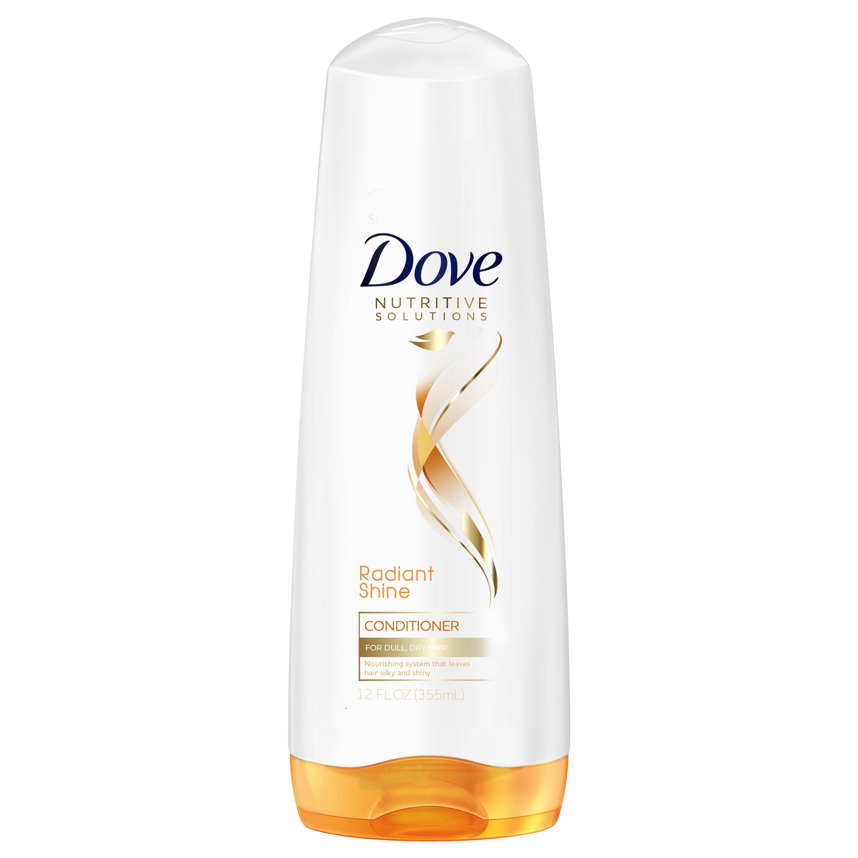Dove Nutritive Solutions Radiant Shine Conditioner, 12 oz
