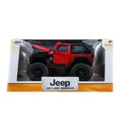 Just Trucks Off-Road Edition: 2007 Jeep Wrangler (Red) 1/24 Scale