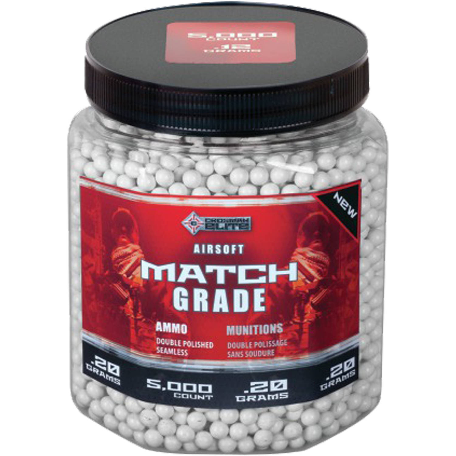 Crosman Airsoft Heavy Ammo, 5,000 Ct.