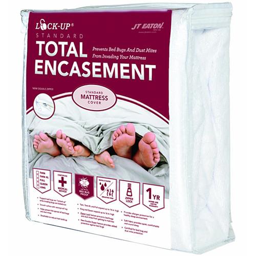 JT Eaton Lock-Up Total Encasement Hypoallergenic Waterproof Mattress Protector
