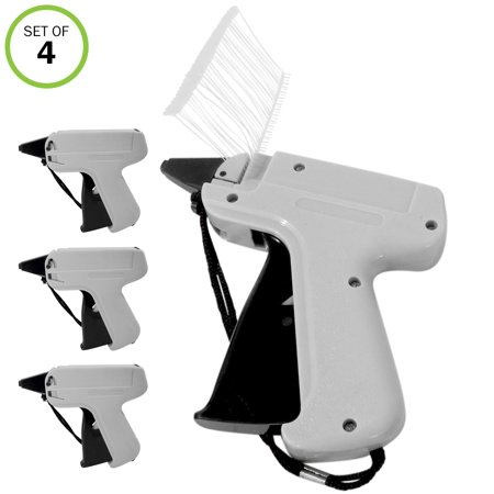 Evelots Tag Attaching Tagging Gun W/ 1000 Standard Attachment Fastener (Standard Tagging Gun)