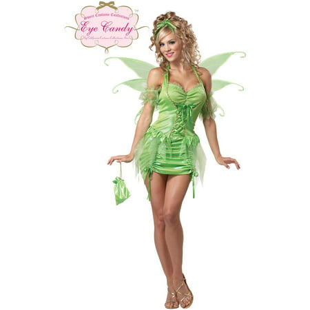 Sexy Tinkerbell Fairy Dress Costume Adult (Costume Tinkerbell)