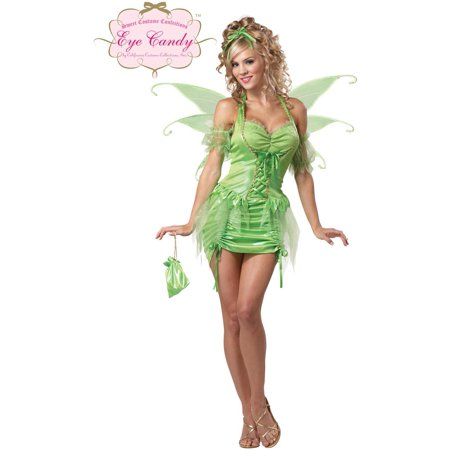 Sexy Tinkerbell Fairy Dress Costume Adult - Cheap Tinkerbell Costume