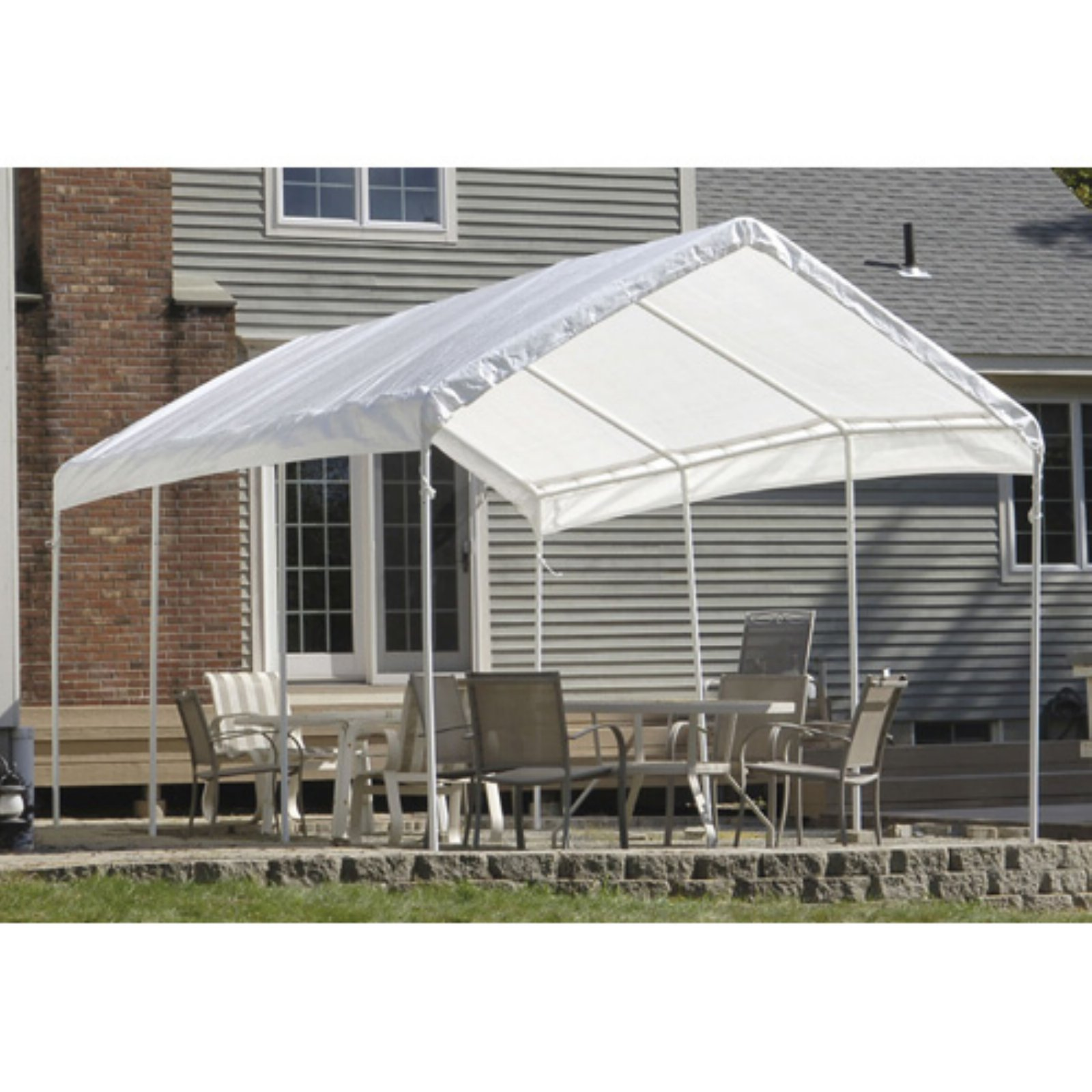 SuperMax 10u0027 x 20u0027 All Purpose Canopy Replacement Cover  sc 1 st  Walmart & SuperMax 10u0027 x 20u0027 All Purpose Canopy Replacement Cover - Walmart.com