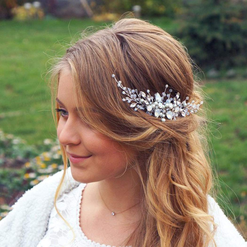 Details about  /Wedding Party Bridal Hair Ornaments Headbands Hair Accessories Crystal Headdress