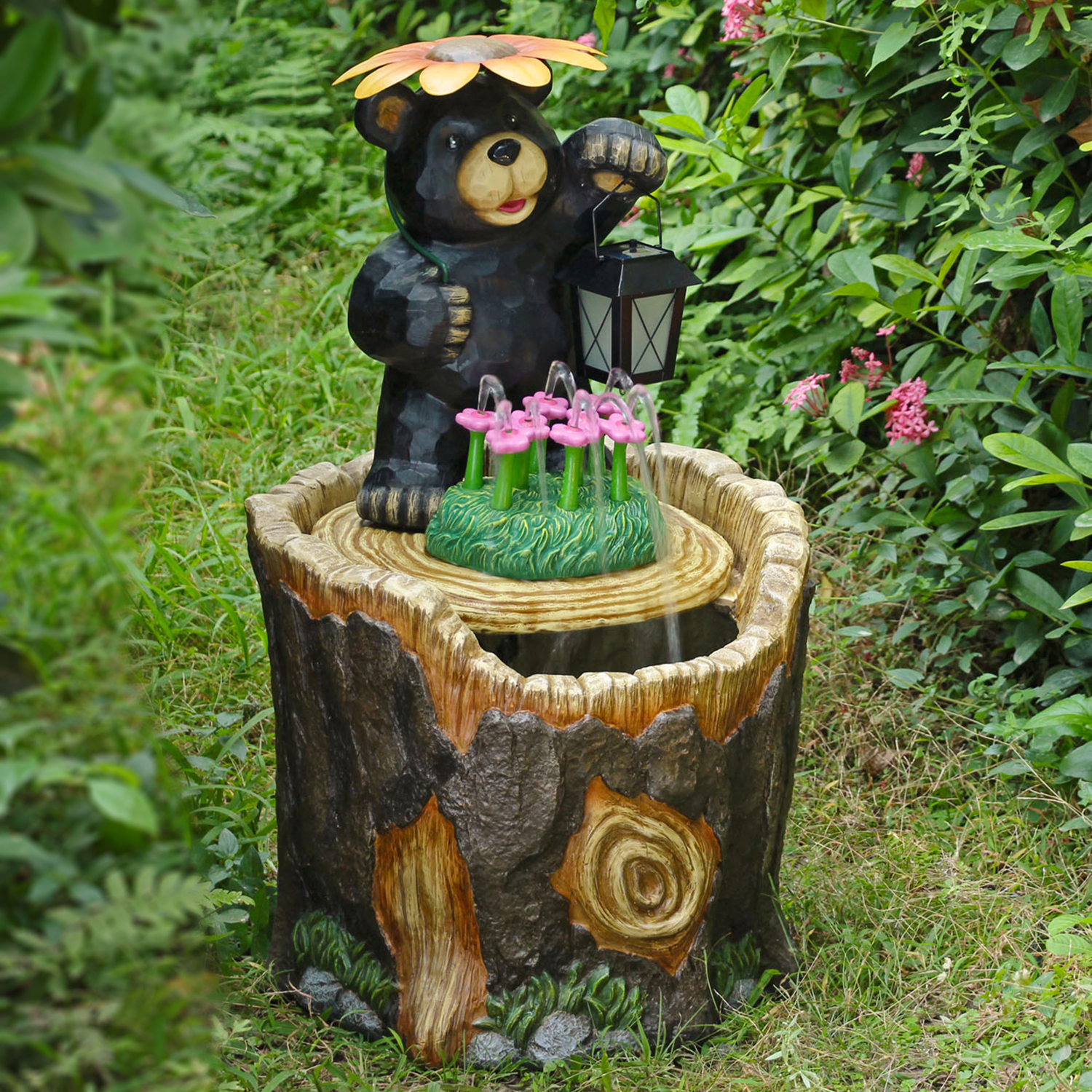 Mainstays Outdoor Bear Fountain