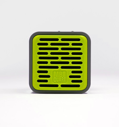 QUBOne - Lime Green - Portable bluetooth speaker with 5-hours music