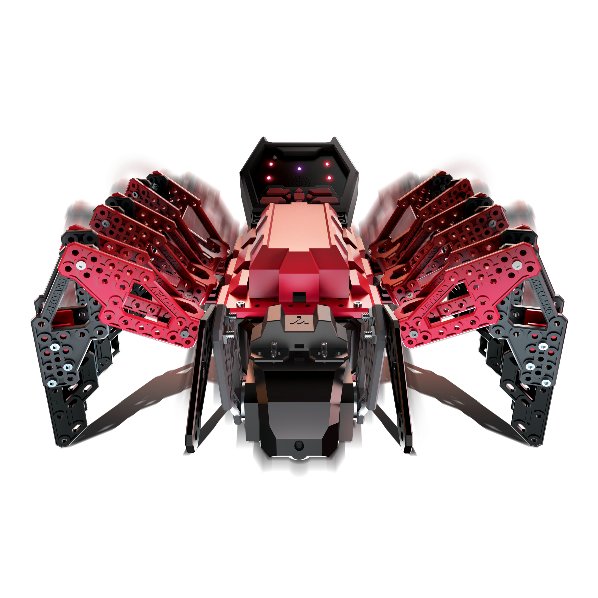 Meccano-Erector – MeccaSpider Robotic Programmable Toy with Built-in Games