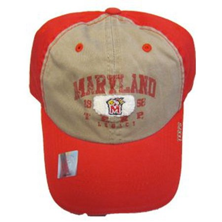 outlet store 68799 4ba0c 656043080297. NCAA Captivating Headgear Maryland Terps Distressed Logo Self  Strap Cap Hat