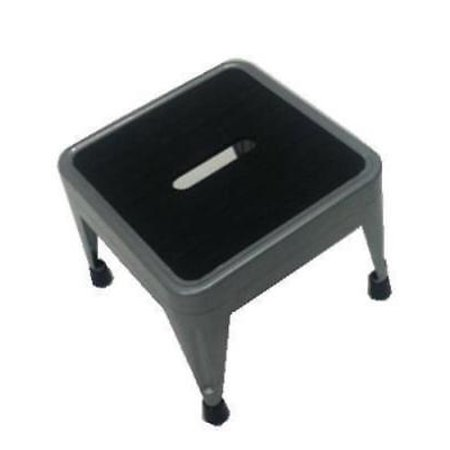 NEW 1 Step Steel Non-Folding Step Stool Durable Steel Frame Stylish Design (Economical Steel Step)