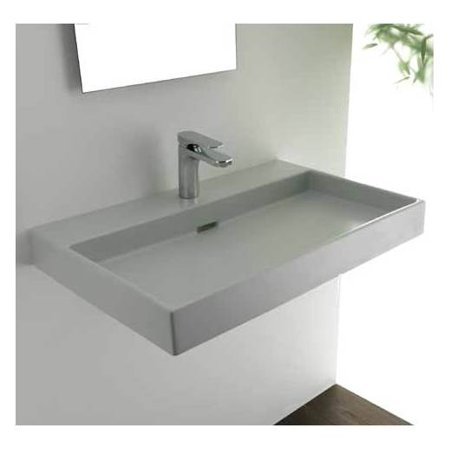 Urban 70 wall mount or countertop installation bathroom for Wall mounted bathroom countertop