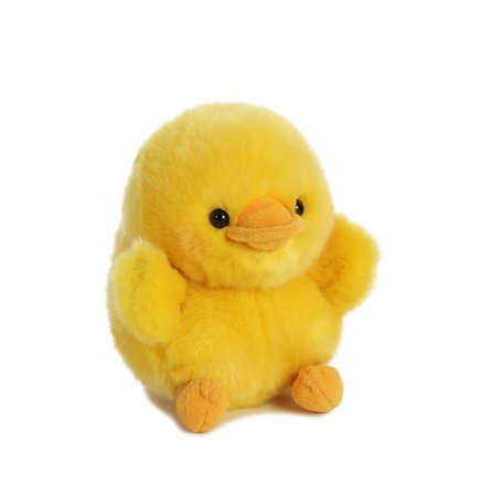 Dewey Duck Rolly Pet 5 inch - Stuffed Animal by Aurora Plush (08822) ()