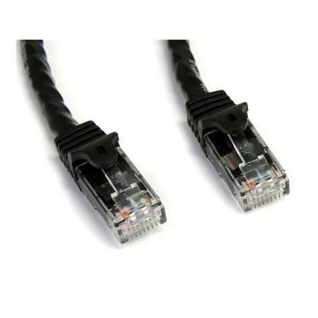 15Ft Black Snagless Cat6 Utp Patch Cable - image 1 de 1