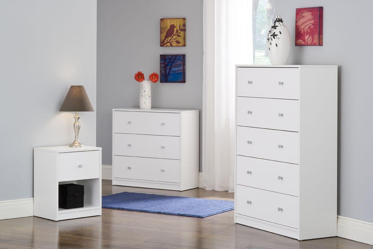 Tvilum Studio Collection 3-Drawer Dresser, Multiple Colors - Walmart.com