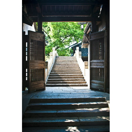 - LAMINATED POSTER China Wind Building Ancient Architecture Wuzhen Poster Print 24 x 36