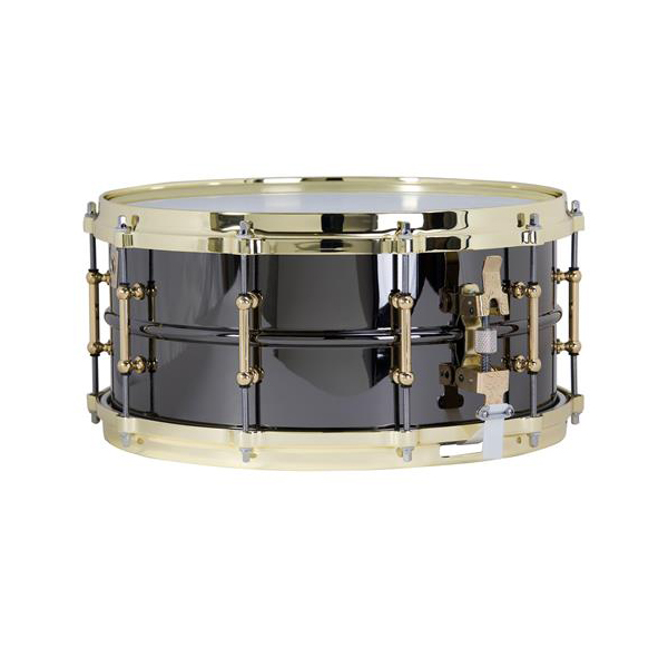 """Ludwig Black Beauty """"Brass on Brass"""" 6.5"""" x 14"""" Snare Drum by Ludwig"""