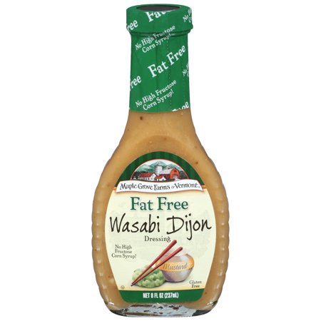 Maple Grove Fat Free Wasabi Dijon Salad Dressing, 8