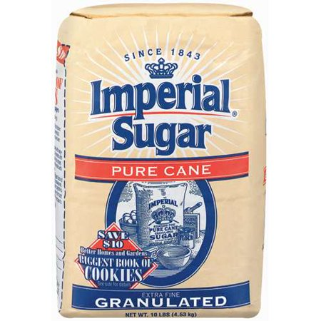 Imperial: Pure Cane Extra Fine Granulated Sugar, 10 Lb