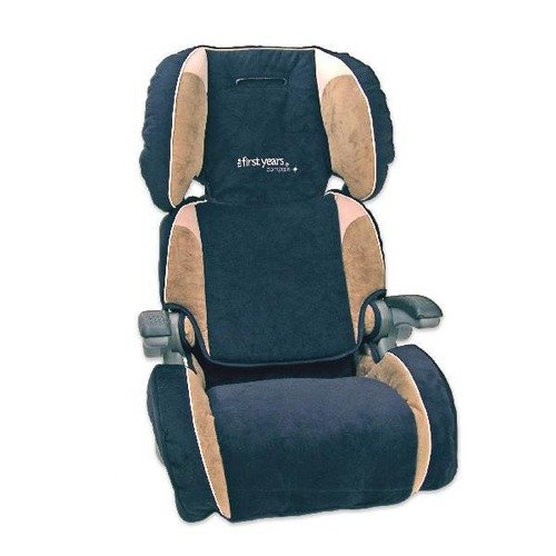The First Years Ultra Folding Booster Seat, Cappuccino Multi-Colored
