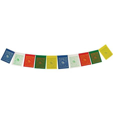Small Tibetan Prayer Flag String - 10ft