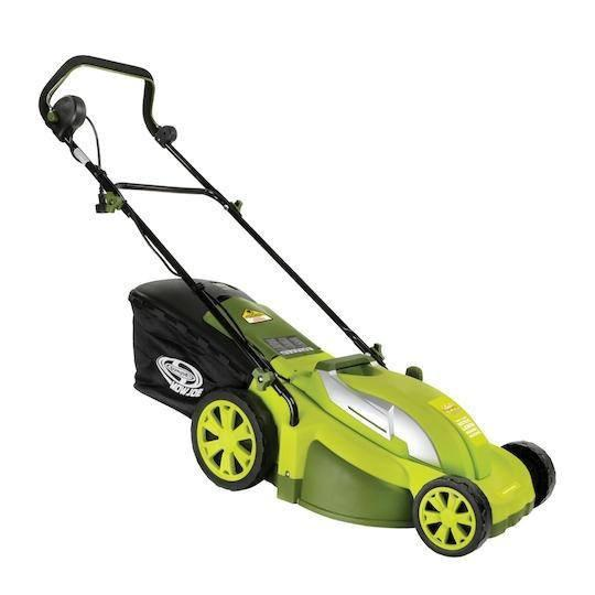 Sun Joe MJ403E Electric Lawn Mower + Mulcher | 17 inch · 13 Amp | 7-position