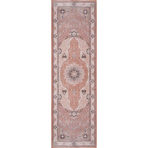 Momeni Antiquity Dynamic Medallion Fine Area Rug (2'6 x 7'10) by Overstock