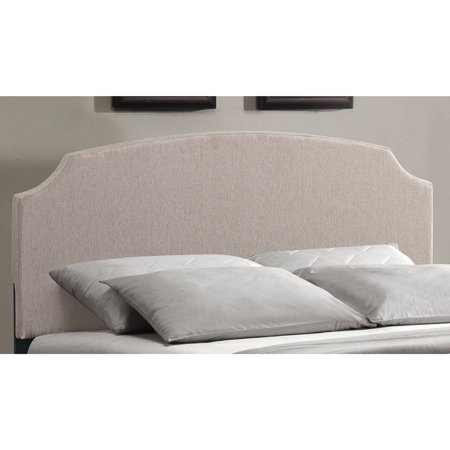 Hillsdale Victorian Headboard - Hillsdale Furniture Lawler Queen Headboard, Cream Fabric