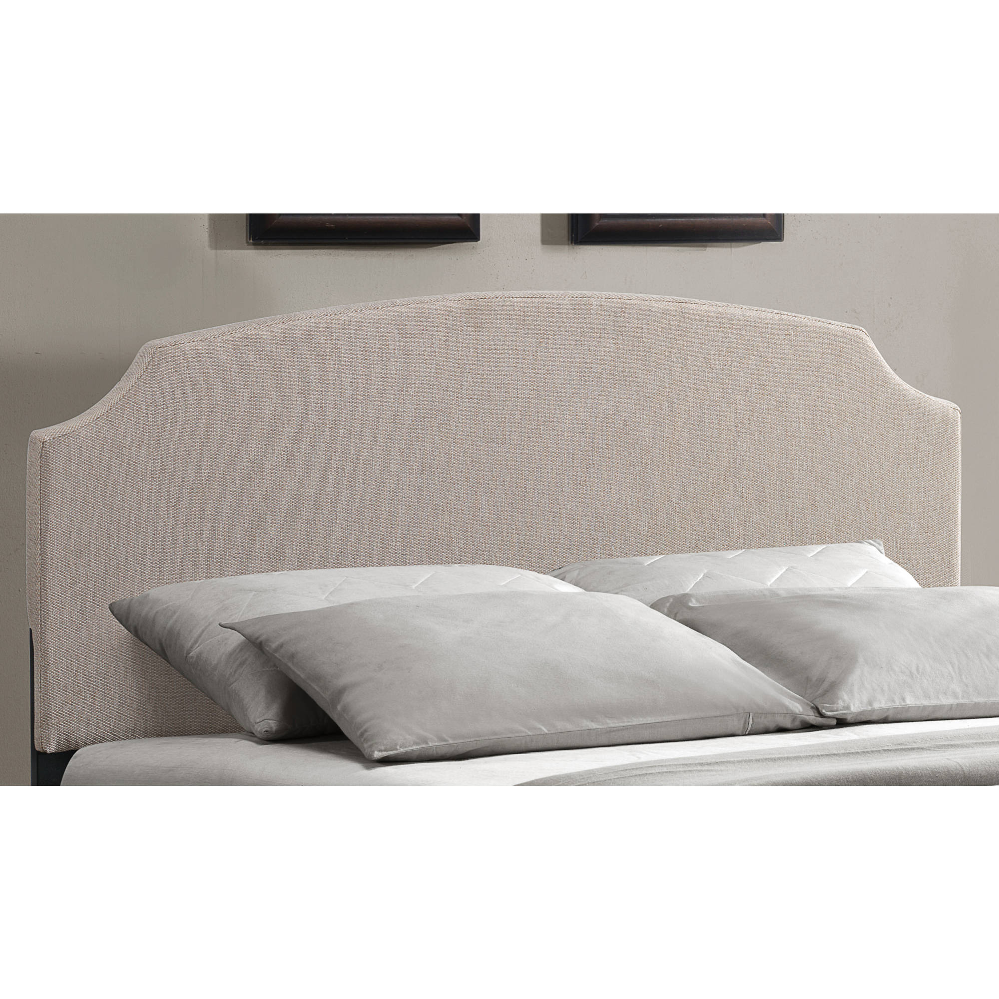Hillsdale Furniture Lawler Queen Headboard, Cream Fabric