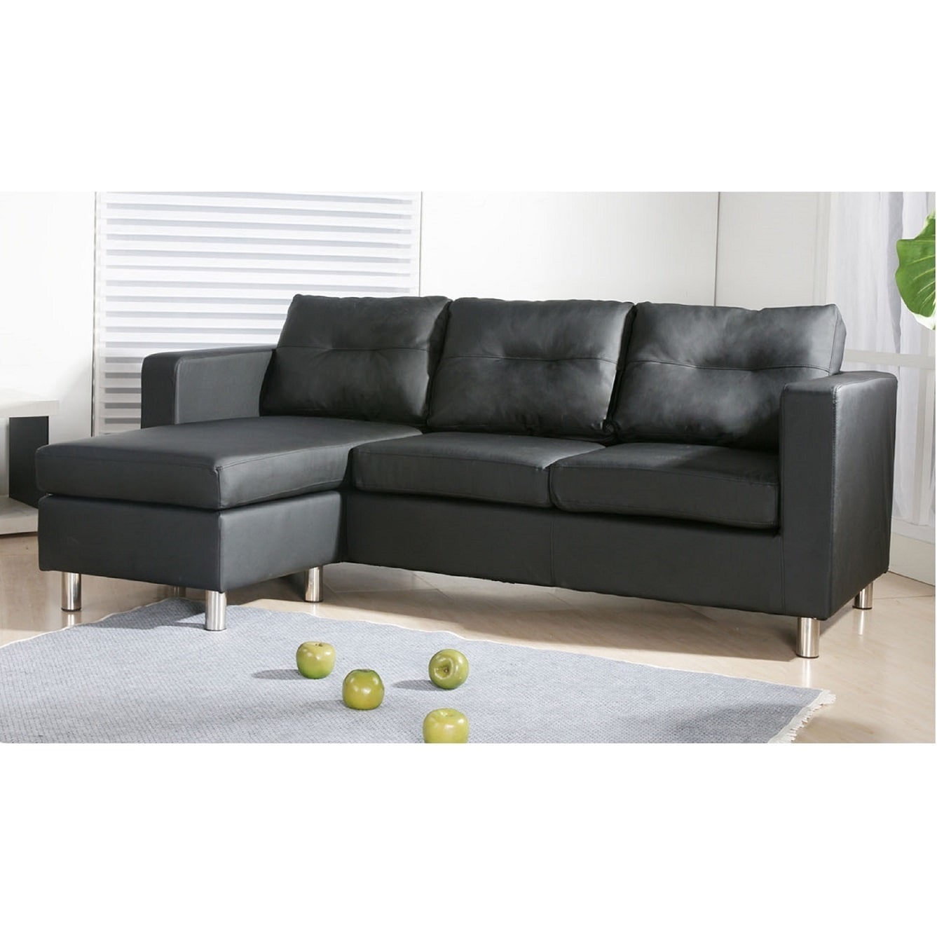 US Pride Furniture Caius Faux Leather Versatile Sofa Set