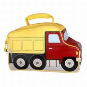 Thermos Big Yellow Truck Soft Lunch Box Insulated Lunch Bag Kids Lunchbox