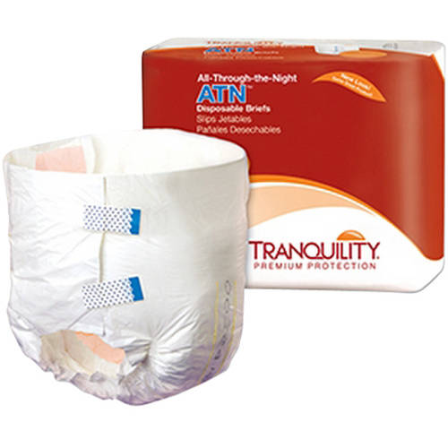 ATN Tab Closure X-Small Disposable Heavy Absorbency Disposable Briefs