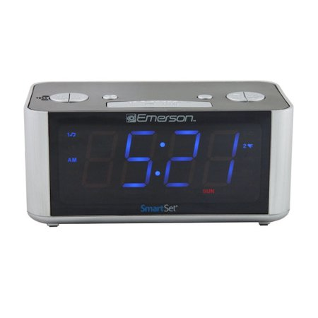 smartset radio alarm clock led. Black Bedroom Furniture Sets. Home Design Ideas