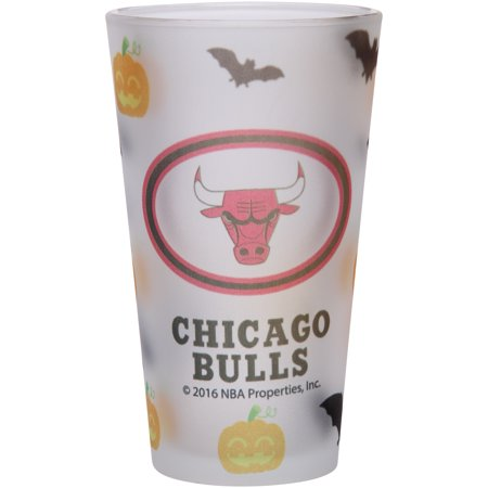 Chicago Bulls 16oz. Halloween Frosted Pint Glass - No Size - Halloween Chicago Events 2017
