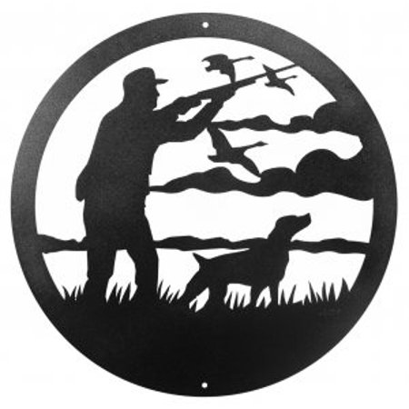 Goose Hunter 12 Inch Scenic Sign - image 1 of 1