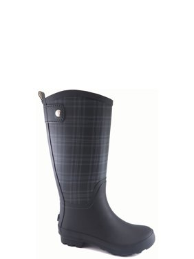 4db656ece Product Image Time and True Women's Plaid Rain Boot