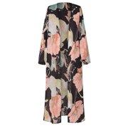 4fbed466 Womens Floral Kimono Cardigan Duster Long Wrap Shawl Boho Gypsy Loose Top  Blouse