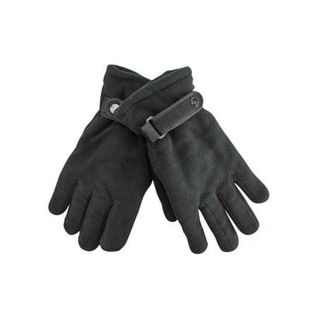 Hybrid Fleece Glove - Polar Fleece Mens Thermal Insulated Gloves