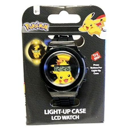 Pokémon - Pokemon Kids Watch Pikachu Black Strap - Walmart.com 4639e1525a05d