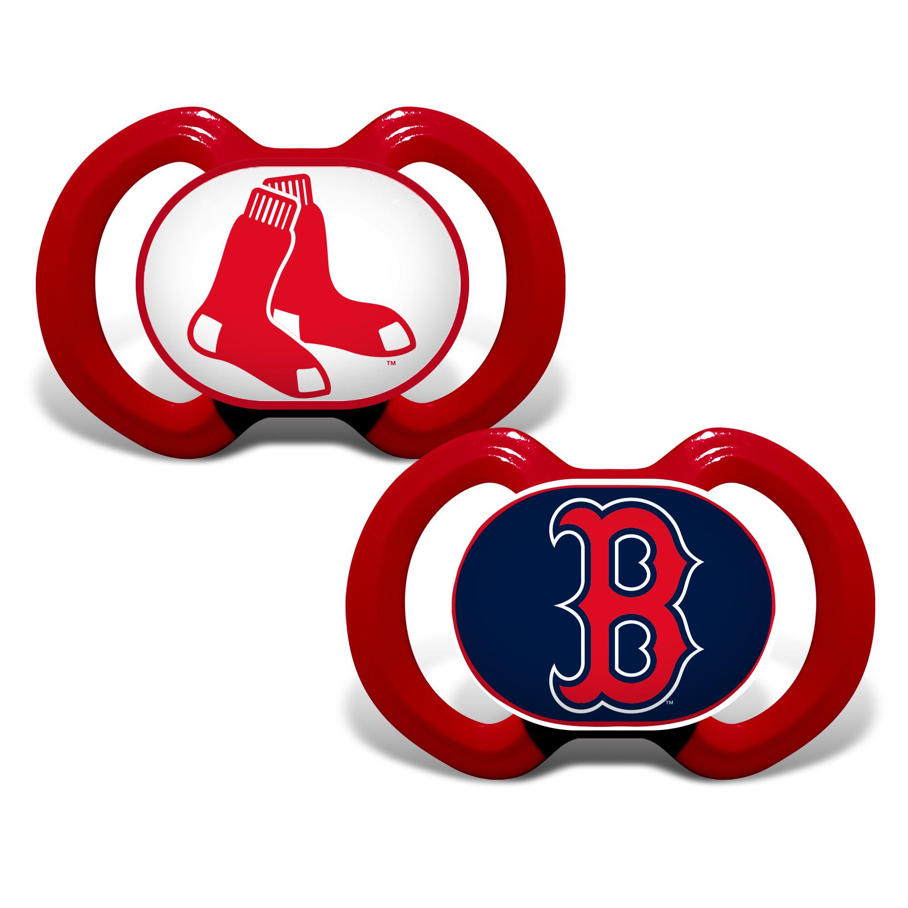 MLB Boston Red Sox 2-Pack Pacifiers