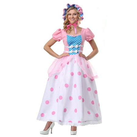Women's Bo Peep Plus Size Costume - Little Bo Peep Adult Costume